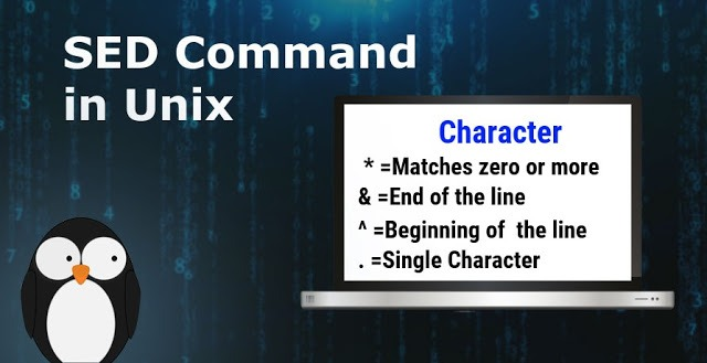 Unix / Linux - Regular Expressions with sed Command - myTechMint