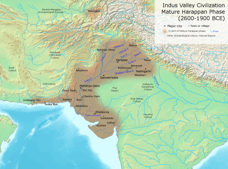 Indus valley sites: archaeological evidences - mytechmint