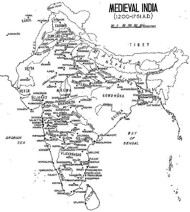 medieval india - mytechmint