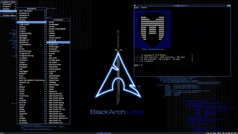 Black Arch - Top 10 Best Rolling Release Linux Distributions - myTechmint
