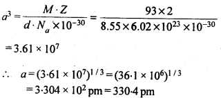 NCERT Solutions For Class 12 Chemistry Chapter 1 The Solid State 9