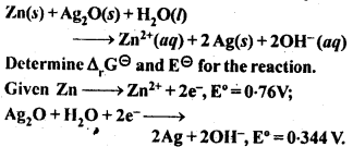 NCERT Solutions For Class 12 Chemistry Chapter 3 Electrochemistry-9