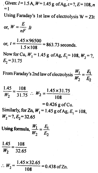 NCERT Solutions For Class 12 Chemistry Chapter 3 Electrochemistry-20
