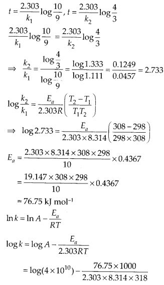 NCERT Solutions for Class 12 Chemistry Chapter 4 Chemical Kinetics 59
