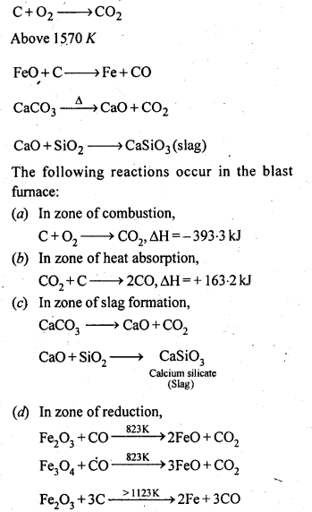 NCERT Solutions For Class 12 Chemistry Chapter 6 General Principles and Processes of Isolation of Elements-8