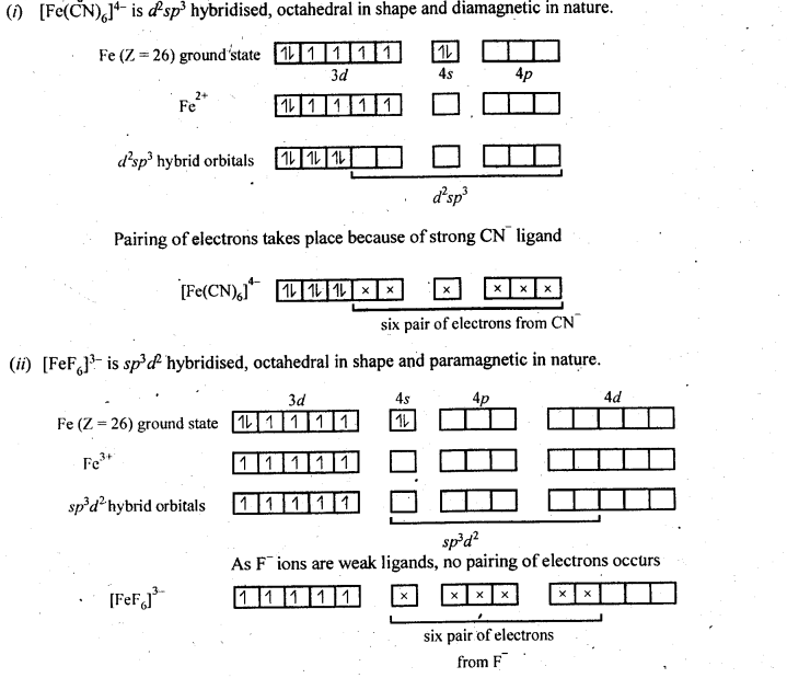 NCERT Solutions For Class 12 Chemistry Chapter 9 Coordination Compounds-13
