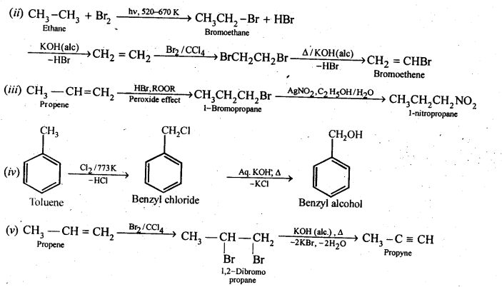 NCERT Solutions For Class 12 Chemistry Chapter 10 Haloalkanes and Haloarenes-9