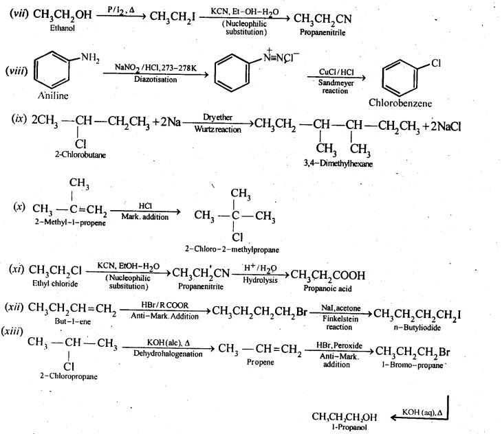 NCERT Solutions For Class 12 Chemistry Chapter 10 Haloalkanes and Haloarenes-19
