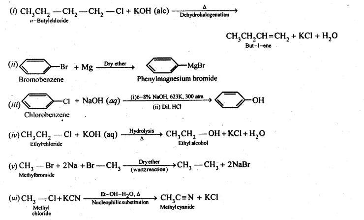 NCERT Solutions For Class 12 Chemistry Chapter 10 Haloalkanes and Haloarenes-26