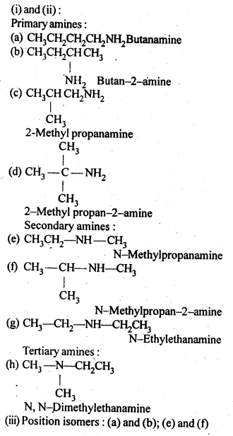 NCERT Solutions For Class 12 Chemistry Chapter 13 Amines-2