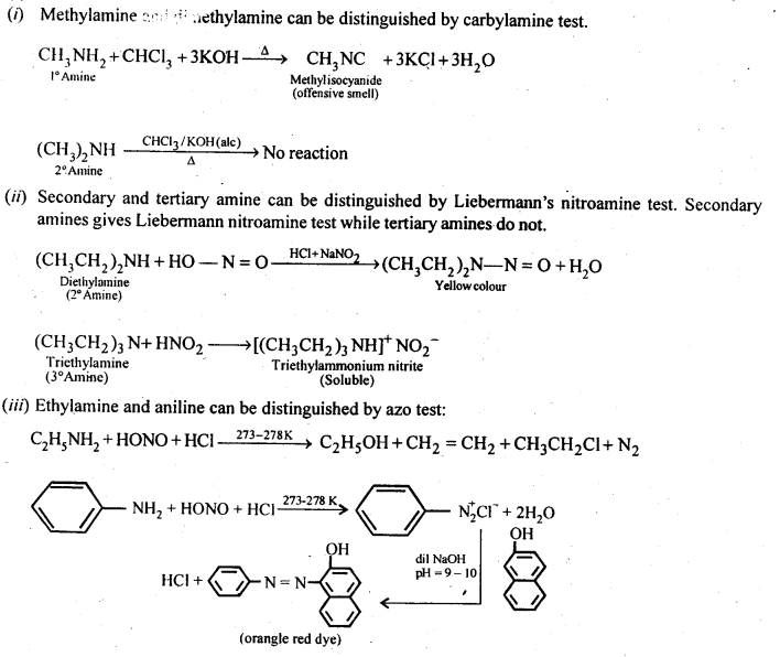 NCERT Solutions For Class 12 Chemistry Chapter 13 Amines-9