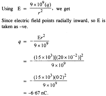 NCERT Solutions for Class 12 physics Chapter 1.17