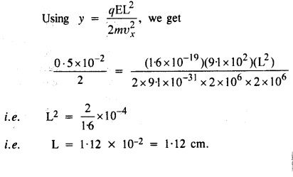 NCERT Solutions for Class 12 physics Chapter 1.42