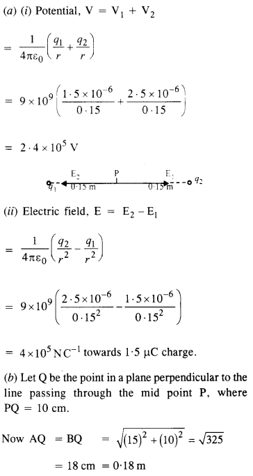 NCERT Solutions for Class 12 physics Chapter 2.12