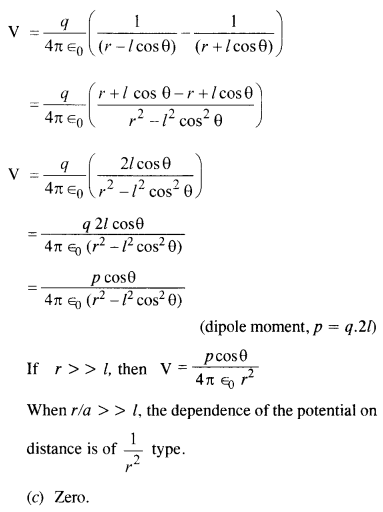 NCERT Solutions for Class 12 physics Chapter 2.30