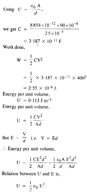 NCERT Solutions for Class 12 physics Chapter 2.37