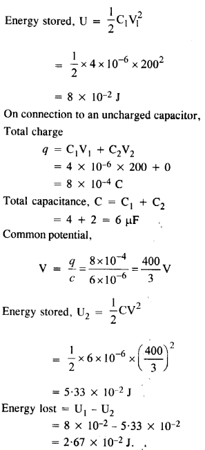 NCERT Solutions for Class 12 physics Chapter 2.38