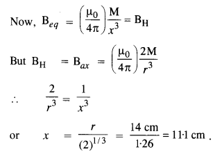 NCERT Solutions for Class 12 physics Chapter 5.11