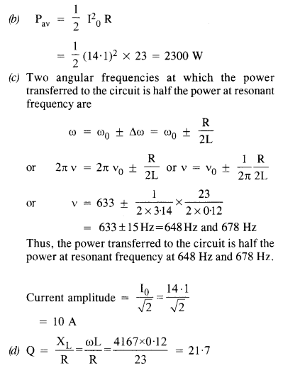NCERT Solutions for Class 12 physics Chapter 7.27