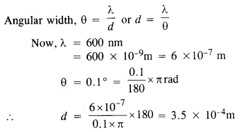 NCERT Solutions for Class 12 physics Chapter 10 Wave optics.19