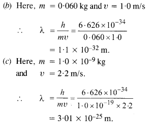 NCERT Solutions for Class 12 physics Chapter 11Dual Nature of Radiation and Matter.25