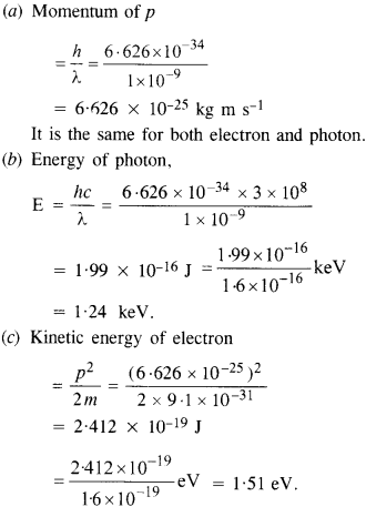 NCERT Solutions for Class 12 physics Chapter 11Dual Nature of Radiation and Matter.26