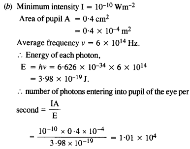 NCERT Solutions for Class 12 physics Chapter 11 Dual Nature of Radiation and Matter.40