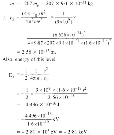 NCERT Solutions for Class 12 physics Chapter 12 Atoms.17
