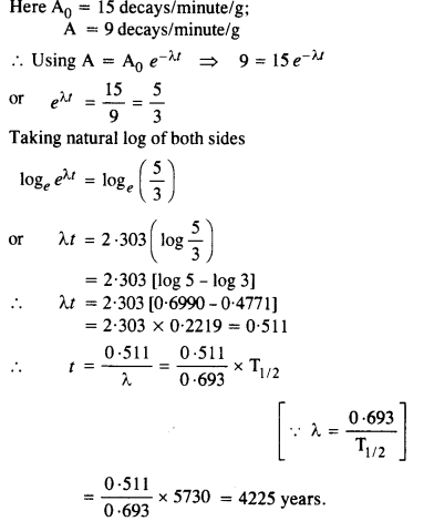 NCERT Solutions for Class 12 physics Chapter 13.9