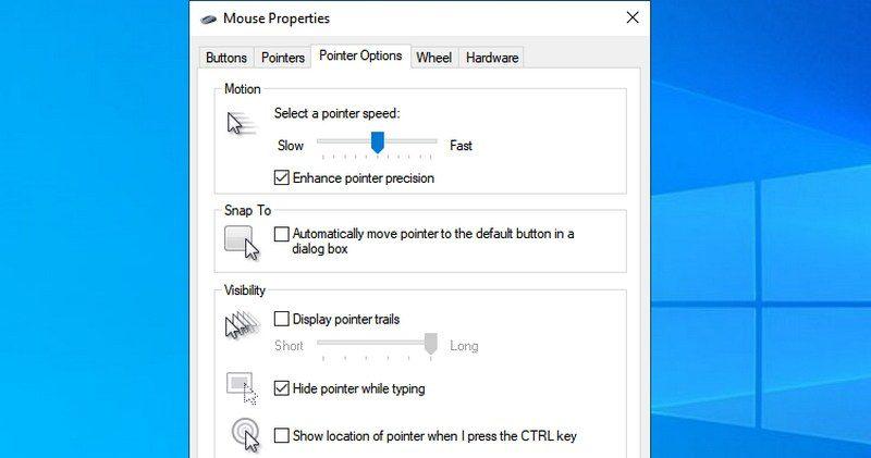 Mouse properties - my tech mint