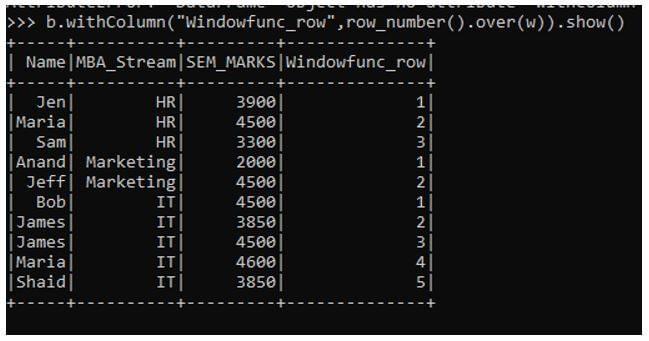PySpark Window Functions 3